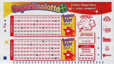 билет SuperEnalotto