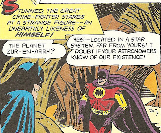 Planet Zor Batman Of Zur En Arrh