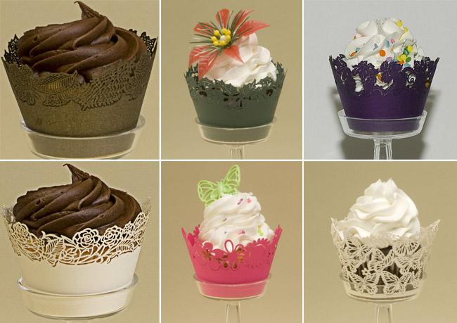 Franabelle's Fancy: Paper Cupcake Holders