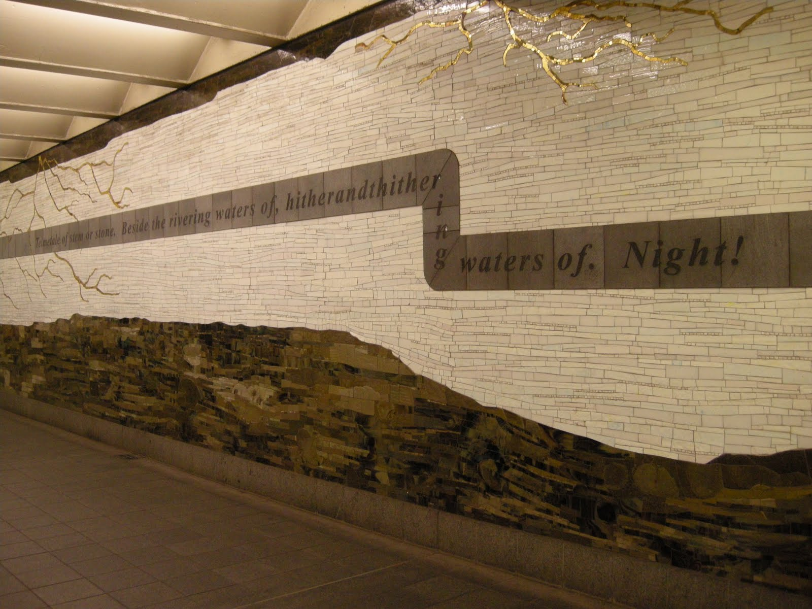 Weaver Of The Wind: Finnegans Wake In The New York Subway