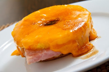 Ham and Pineapple Melts