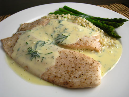 how to make lemon sauce for fish fillet