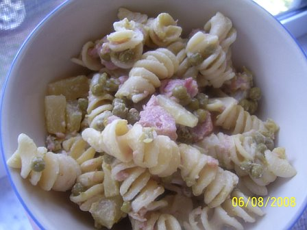 My Mom's Pasta Salad