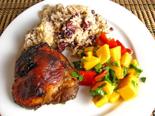 Jamaican Jerk Chicken Dinner