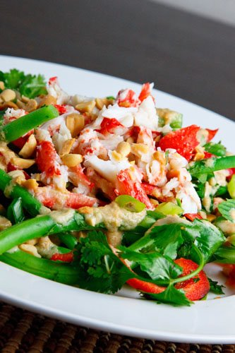 Thai Green Bean and Crab Salad