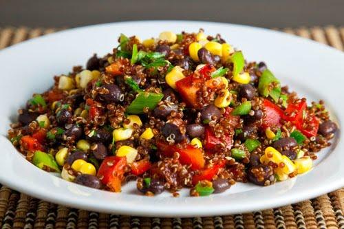 Black Bean Quinoa Salad