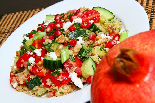 Pomegranate Tabbouleh Salad