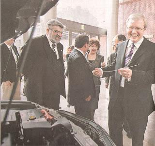 Kevin Rudd in Nagoya June 2008, The Australian