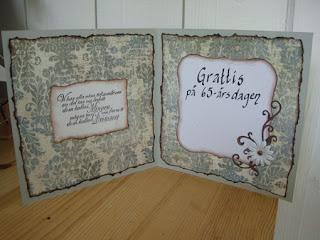 65 års kort Tazzen och Giraffen: 65 års kort 65 års kort