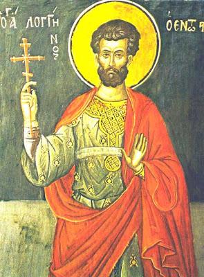 ST. LONGINUS the Centurion, Martyr