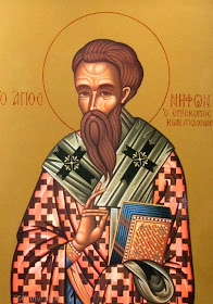Today: SAINT NEPHON II Patriarch of Constantinople, Info