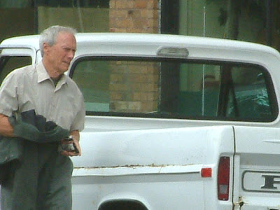 Clint Eastwood is Walt Kowalsky the grumpy old man in the movie Gran Torino.