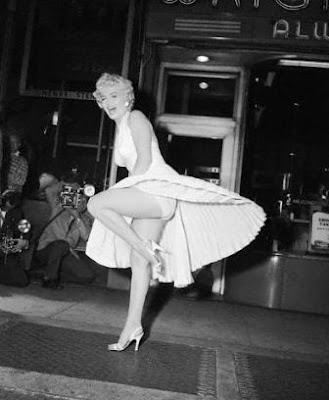 Marilyn Monroe vestido blanco