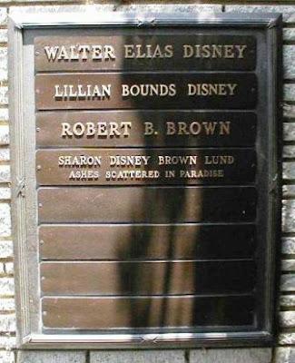 Tumba de Walt Disney