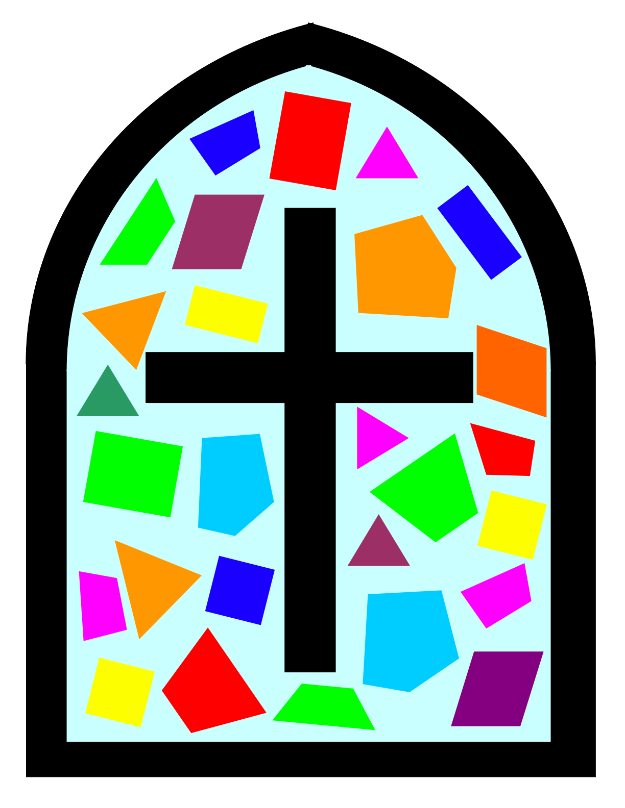 free clipart stained glass window - photo #3