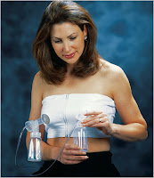ca35bf884c752 I started using a Medela double pump electric breast pump, but found myself  trapped on the pump, with both hands supporting the suction shields, ...
