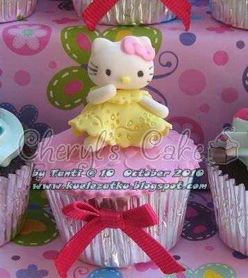 Kue Ulang Tahun Anak Cupcake Birthday Cake Hello