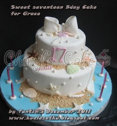 Christmas Palm Cake Recipe