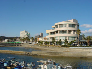 Utsumi seafront