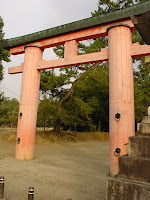 Shrine Torii Gate, Nara Park, Nara
