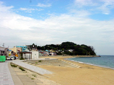 Beach at Shinojima.