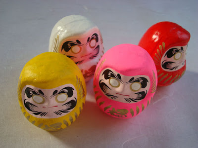 Mini Daruma Doll Set
