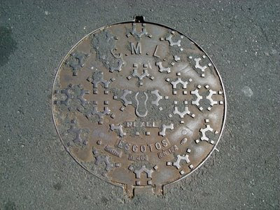 Portugal Manhole Cover