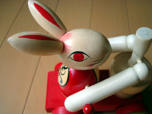 Rabbit Wooden Toy