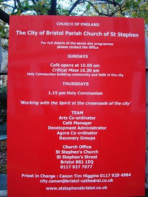 St Stephen's Church Bristol