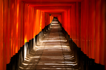 Fushimi Inari Taisha Shrine Torii