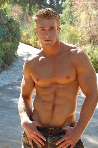 Muscular Gay Guy 19