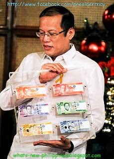 new philippine peso noynoy