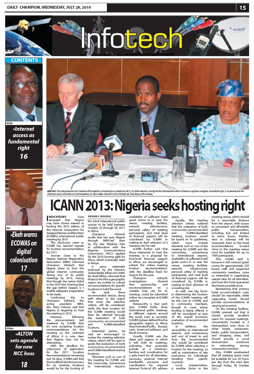 ICANN+2013+ +Nigeria+seeks+hosting+right+pg15+28 7 10.jpeg - Entrepreneur tasks SMEs on collaboration as right temperament for growth
