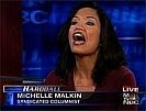 Michelle Malkin screaming about something not worth screaming about