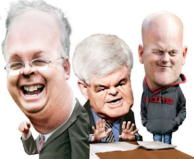 Rove, Gingrich, and Joe the Plumber