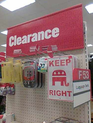 Clearance sale: Republicans