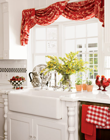 cortina para cozinha
