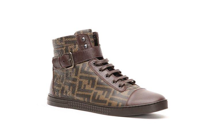 Sneaker in new black FF nylon fabric d60f5151e11