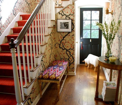 Green Bicycle Favorite Things Wallpaper Foyer