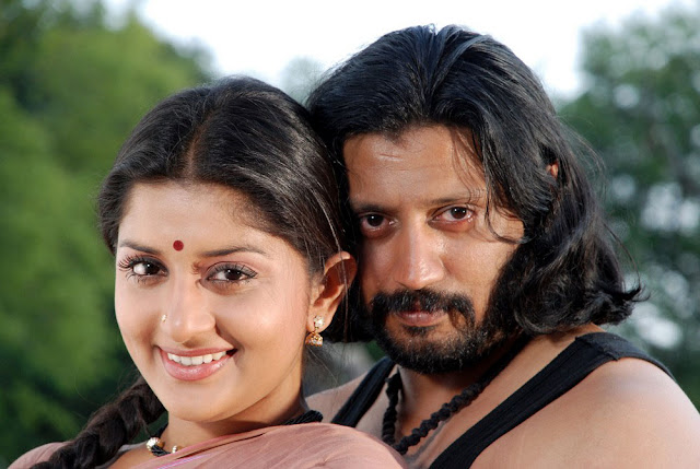 Mambattiyan Movie Prasanth and Meera Jasmine Still 3