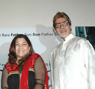 Amitabh Bachan and Kushboo