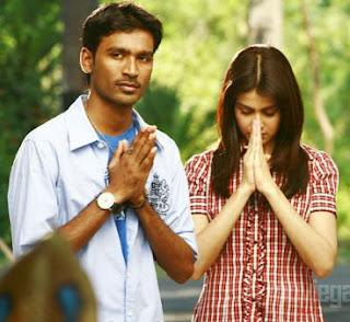 Utthama Puthiran Dhanush and Genelia