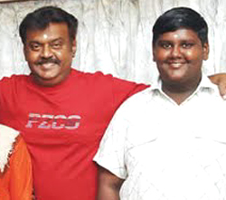 Junior Vijayakanths rash driving terrifies locals at Saligramam