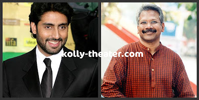 Mani Ratnam cuts Abhishek's hair for Raavan