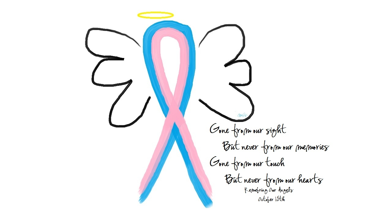 Favorite Angel Wings Cards: Pregnancy & Infant Loss Awareness Support VX88