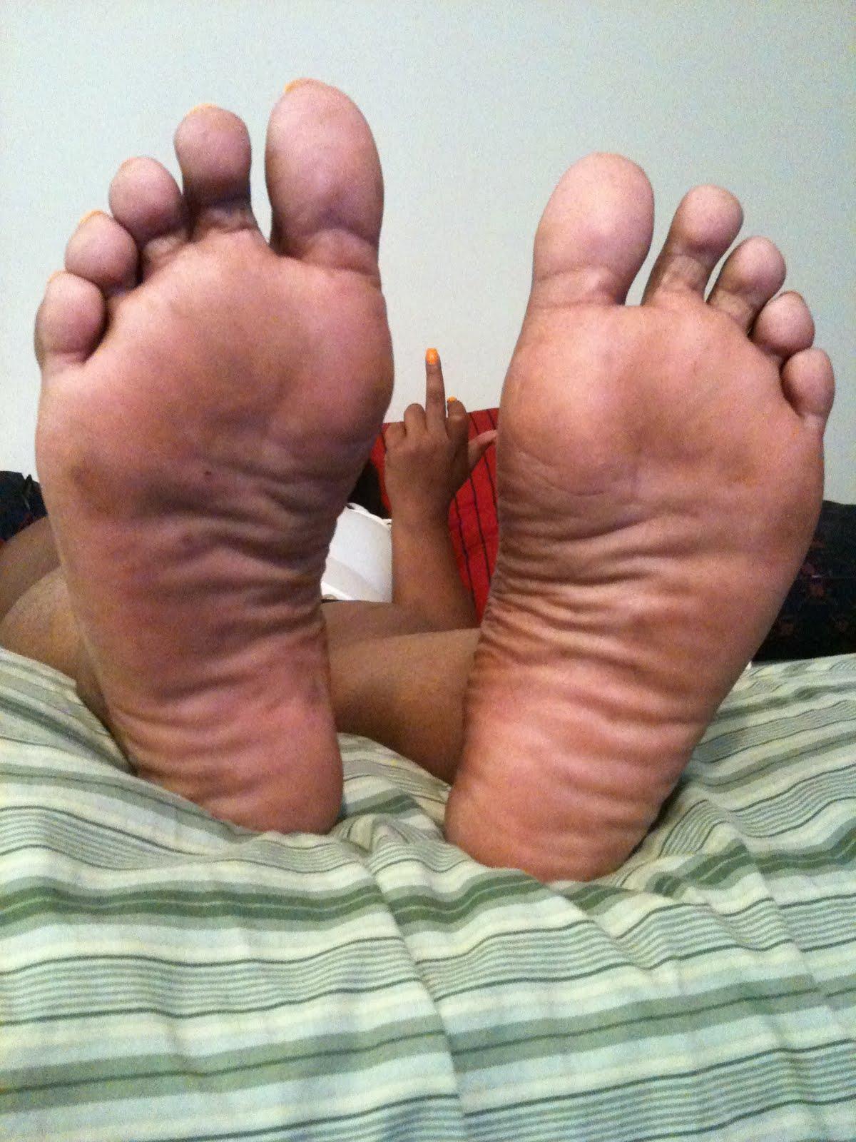 Bbw wrinkled soles 2 6