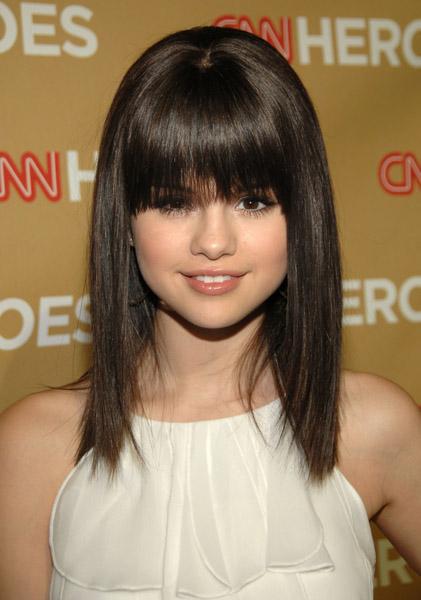 Long Bob Haircut Selena Gomez