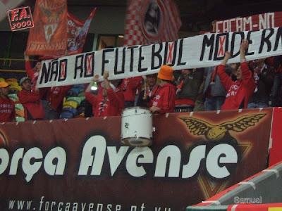 Força Avense, Portugal: O Futebol é do povo... Façam-no para ele. Não ao Futebol Moderno!