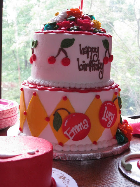 Cherry Red Kids Birthday Party Celebration