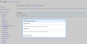 Google Custom Search: Synonyms made easy